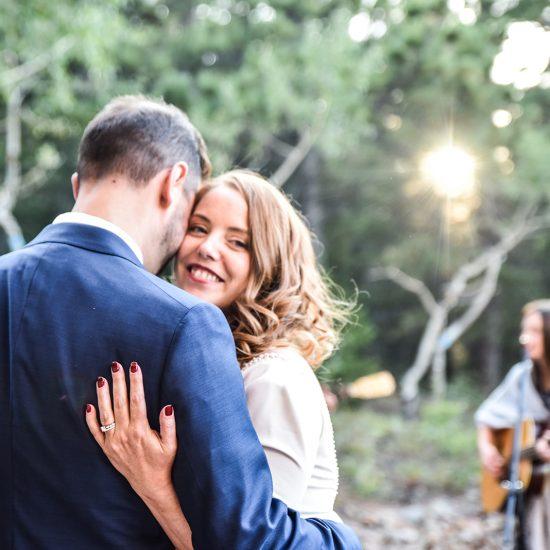 Adoring Estes Park Wedding at the Copeland Institute