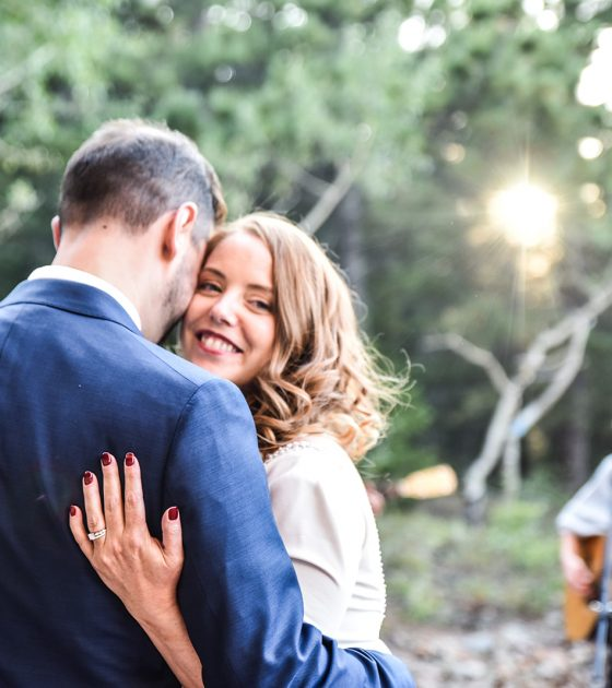 Adoring Estes Park Wedding at the Copeland Institute