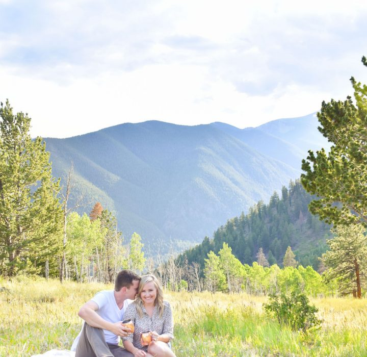A Cute Colorado Camping Engagement Session
