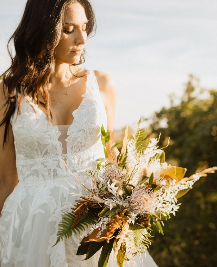 Intimate Bridal Inspiration at the Carlson Vineyards