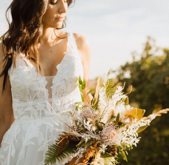 Intimate Bridal Inspiration at the Carlson Vineyards