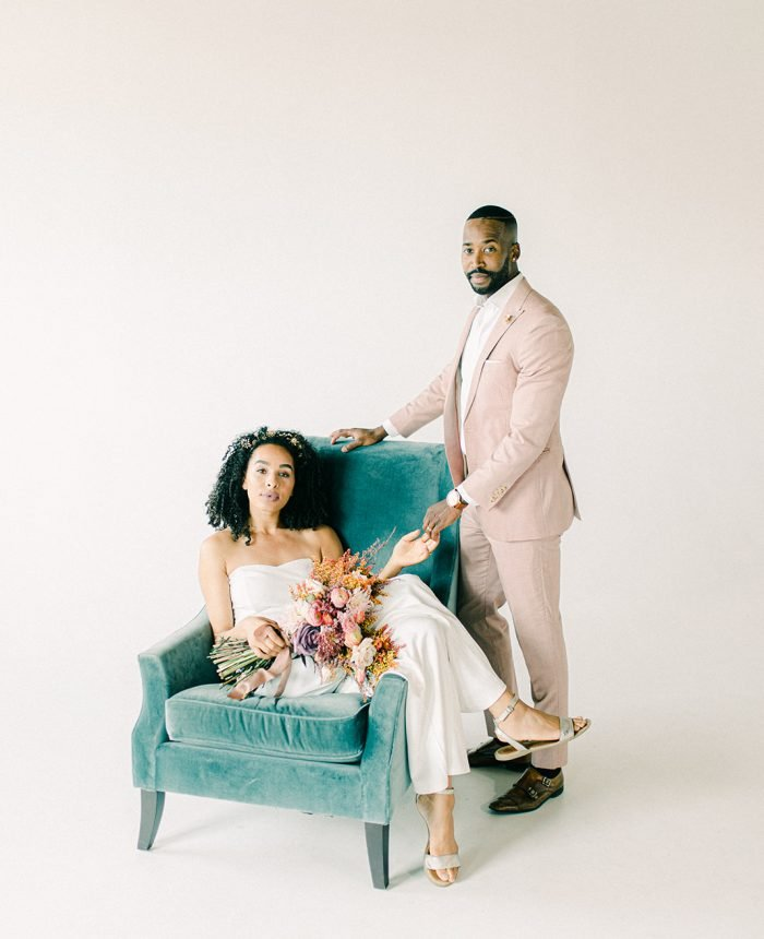 Modern and Alternative Bridals Inspiration