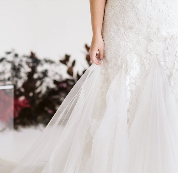 Curvy High-Fashion Bridal Inspiration