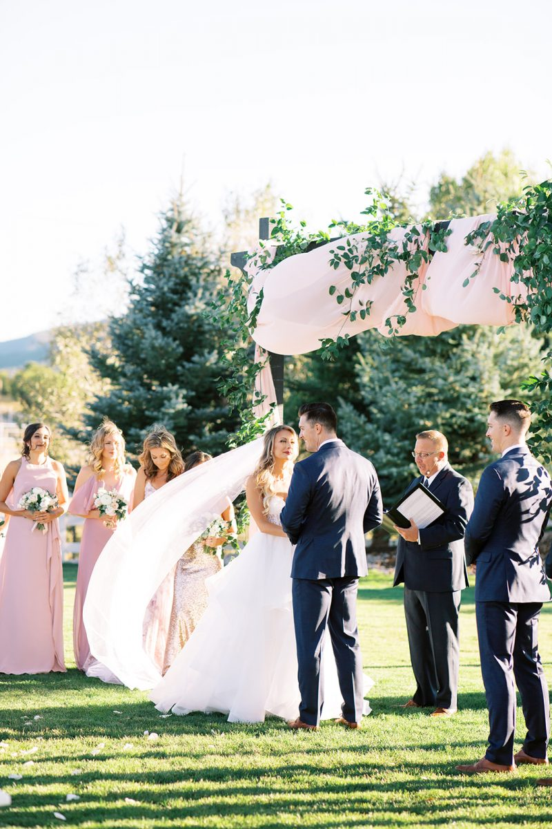 Romantic Crooked Willow Farms Fall Wedding