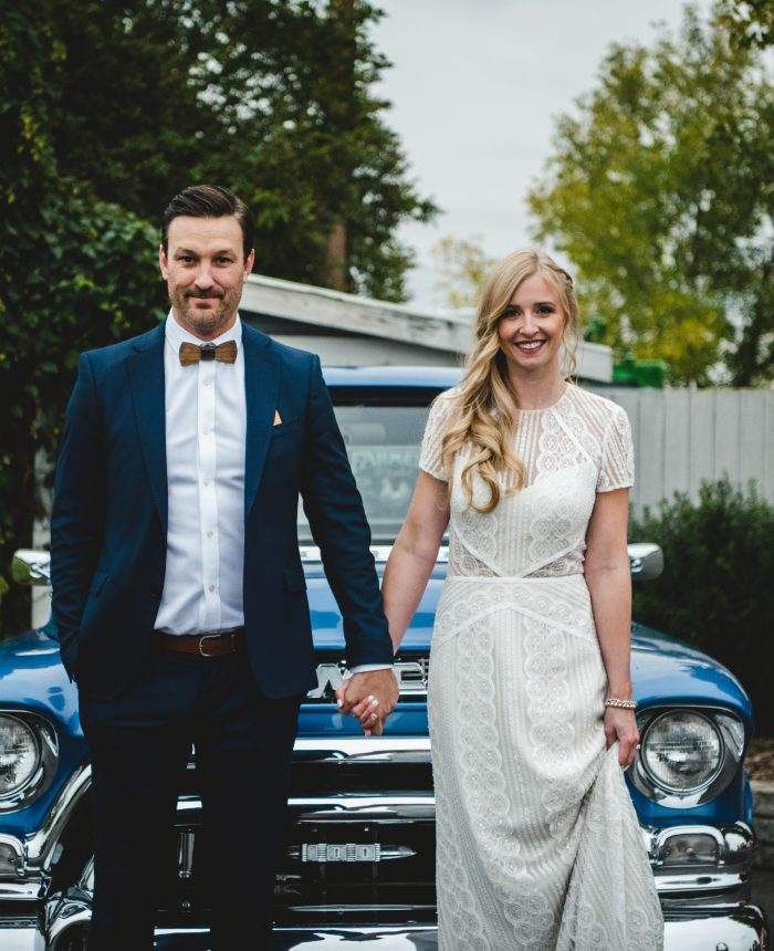 Simple and Classic Wedding at the Big Red Barn