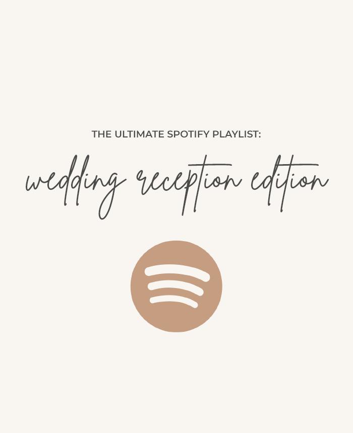 The Ultimate Wedding Reception Playlist | Spotify Playlist