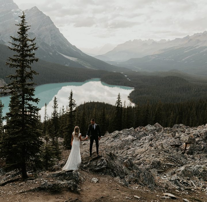 Breathtaking Bow Lake Elopement