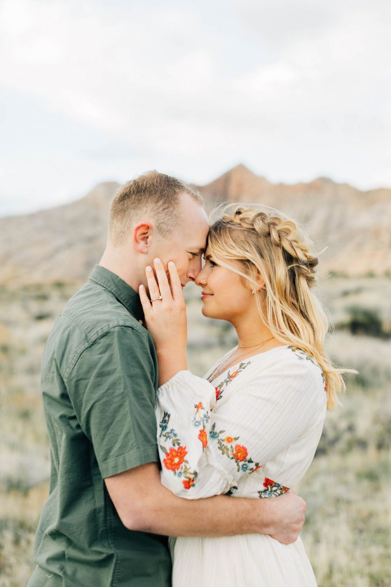 Bright Engagement Session at Snow Canyon State Park
