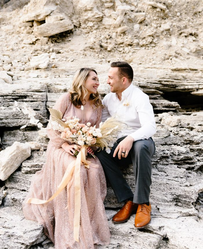 Dusty Pink Wyoming Elopement Inspiration