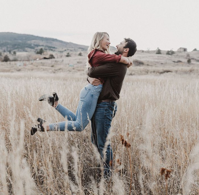 Fun-Loving Flatiron Reservoir Engagement Session