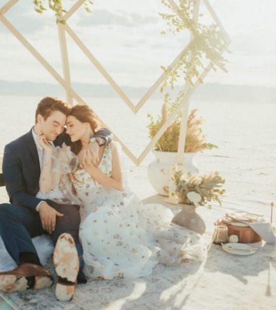 Serene Salt Flats Elopement Inspiration