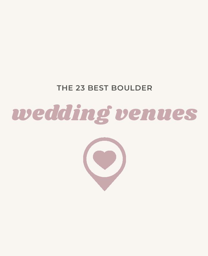 23 Boulder Wedding Venues | Colorado Weddings