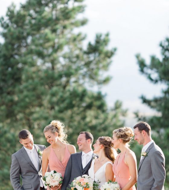 Colorful Garden Party Wedding at Castle Pines Golf Club