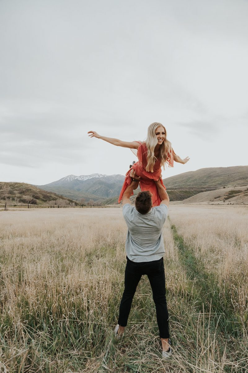 Lovely Utah Canyon Engagement