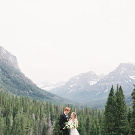 Darling Hyalite Canyon Mountain Elopement