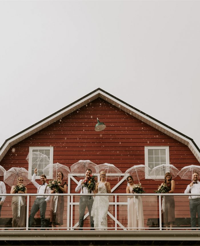 Rustic Summer Wedding at The Red Barn