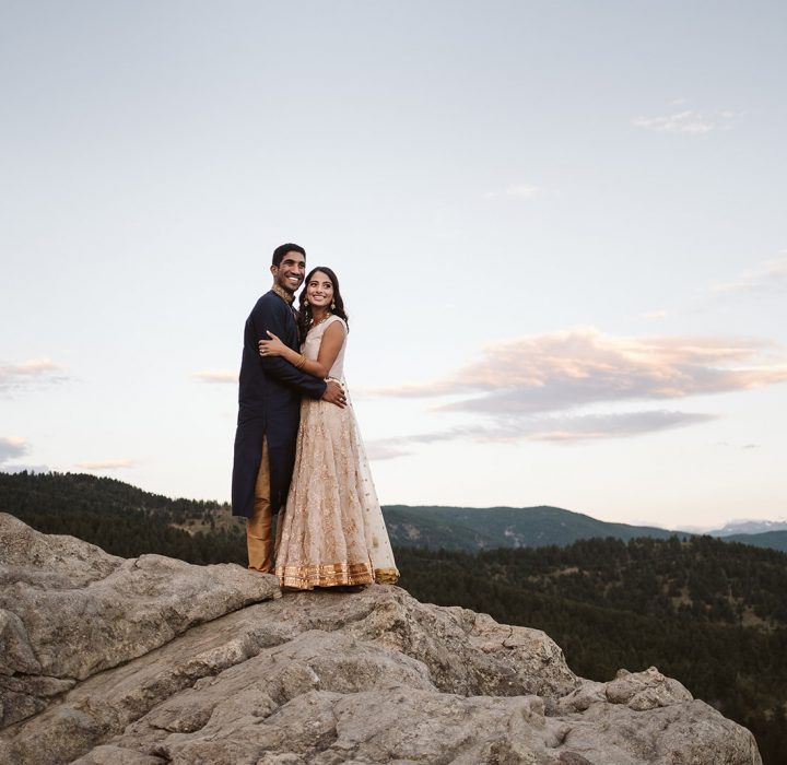 Sweet Sunrise Lost Gulch Overlook Engagement