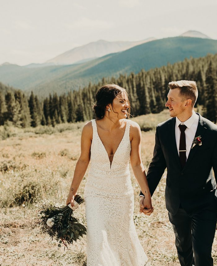 Intimate Mountain Wedding in Breckenridge