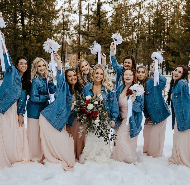 Private Winter Wedding in Cascade