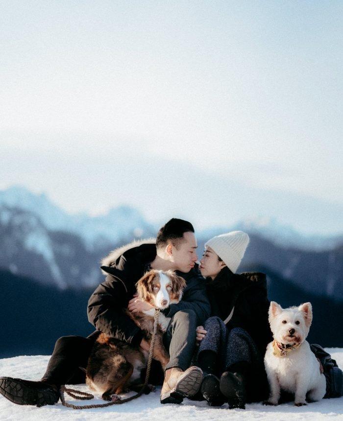 Radiant Dog Mountain Engagement