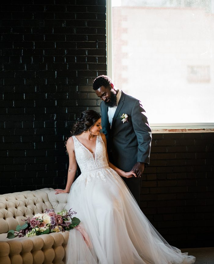 Romantic Industrial Bridals Inspiration