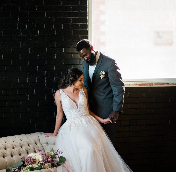 Romantic Industrial Bridals Inspiration