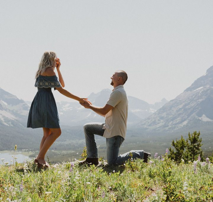 Sunny Surprise Glacier National Park Proposal