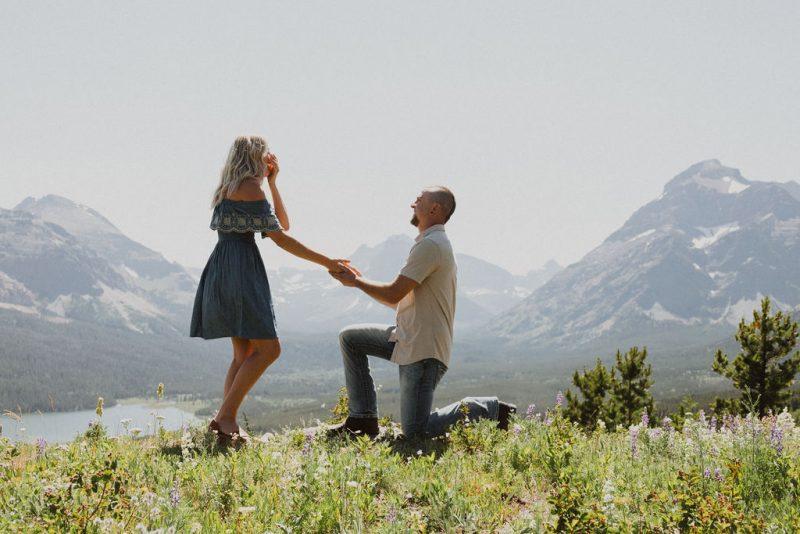 Sunny Surprise Glacier National Park Proposal