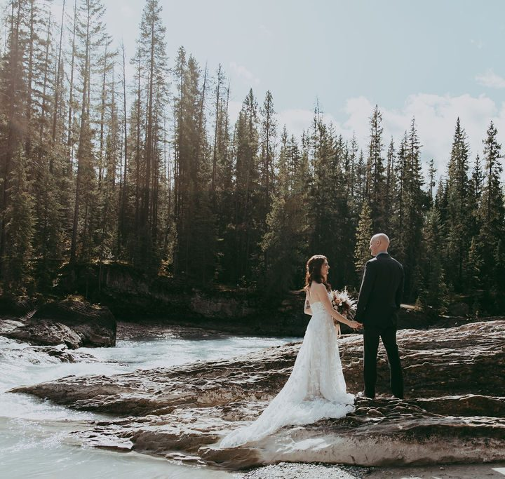 Relaxed and Loving Emerald Lake Lodge Wedding