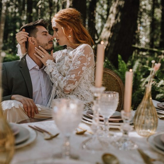 Enchanting Forest Elopement Inspiration