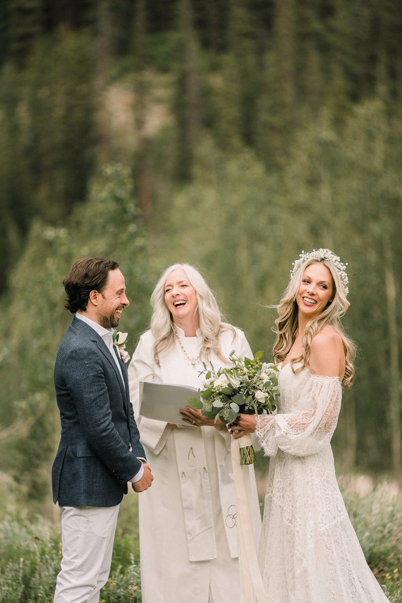 Soft and Ethereal Aspen Wedding