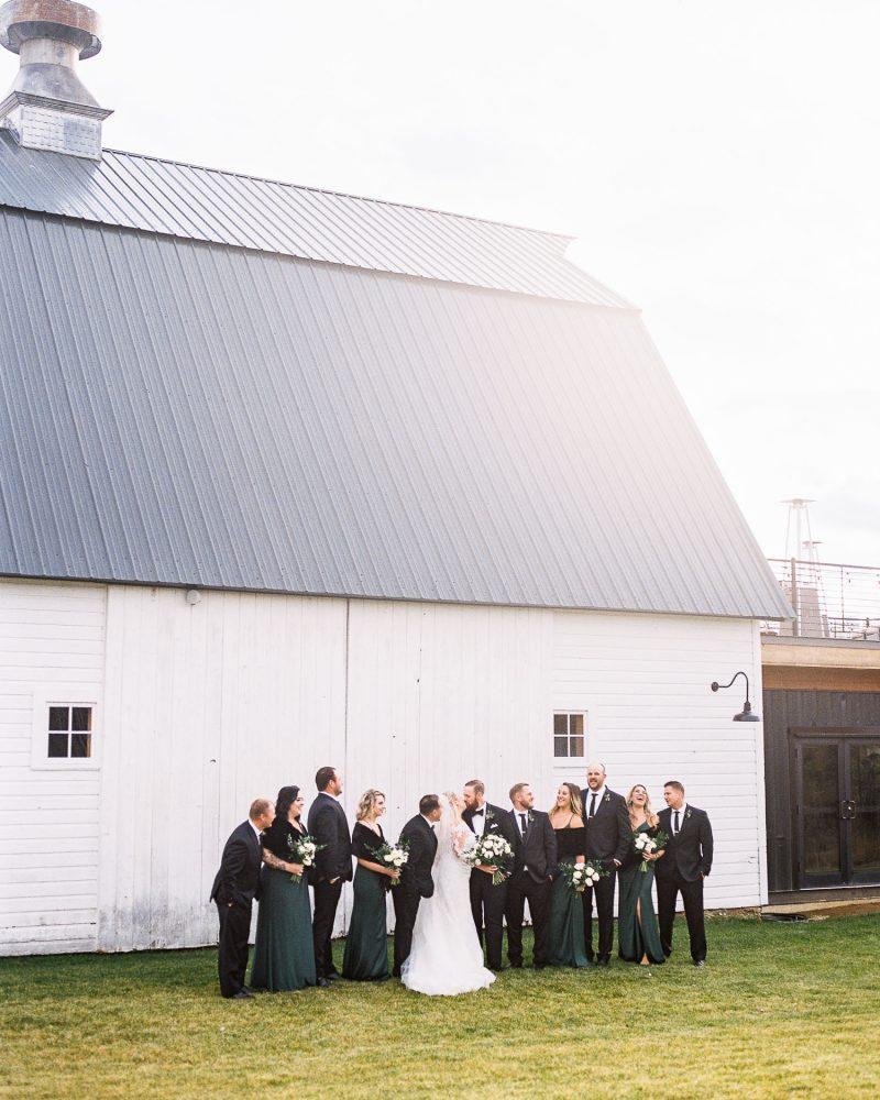 Modern Mountain Wedding at Foster Creek Farm