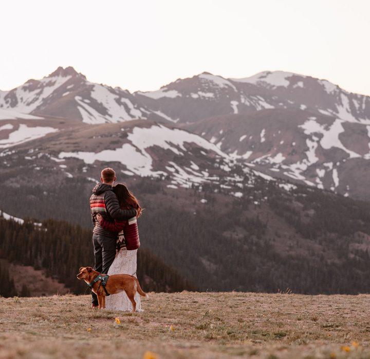 Hiking Adventure Colorado Elopement