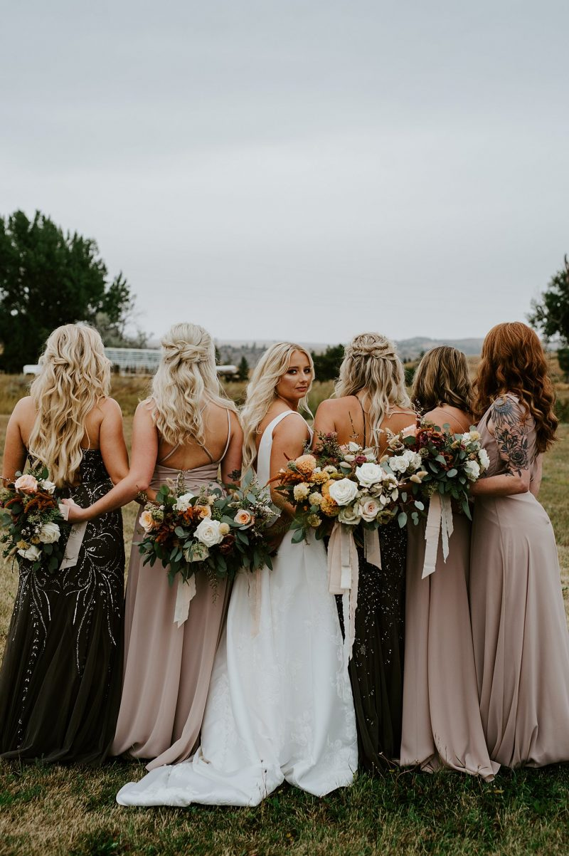 Intimate, Laid-Back Billings Wedding