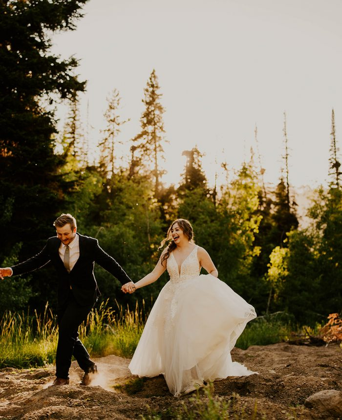 Playful Mountain Bridals in South Hills