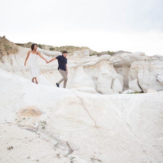 Relaxed and Romantic Paint Mines Engagement