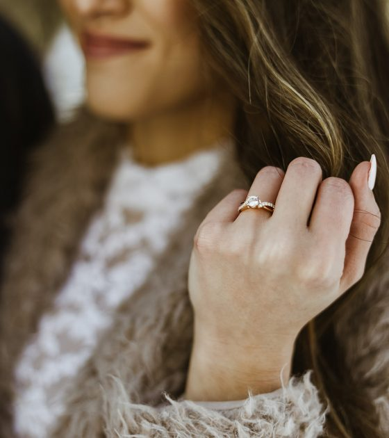 Sparkling Jordan Pines Engagement