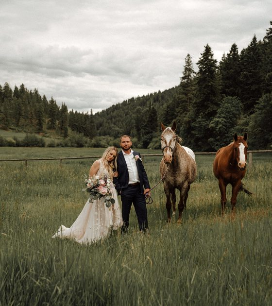 Starry Montana Elopement Inspiration in Bitterroot Valley