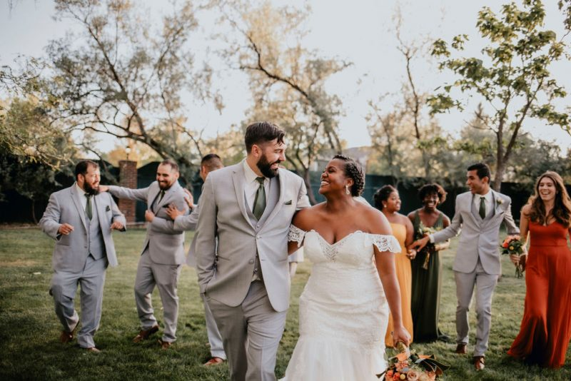 Warm Fall Wedding at Lionsgate Event Center