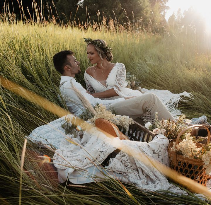 Whimsical and Elegant Picnic Elopement Inspiration