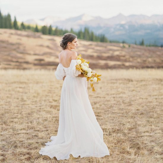 Inspire your Autumn I Do's with Ethereal Bridals Captured in Colorado