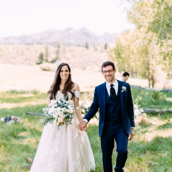 Beautiful Summer Colorado Ranch Wedding