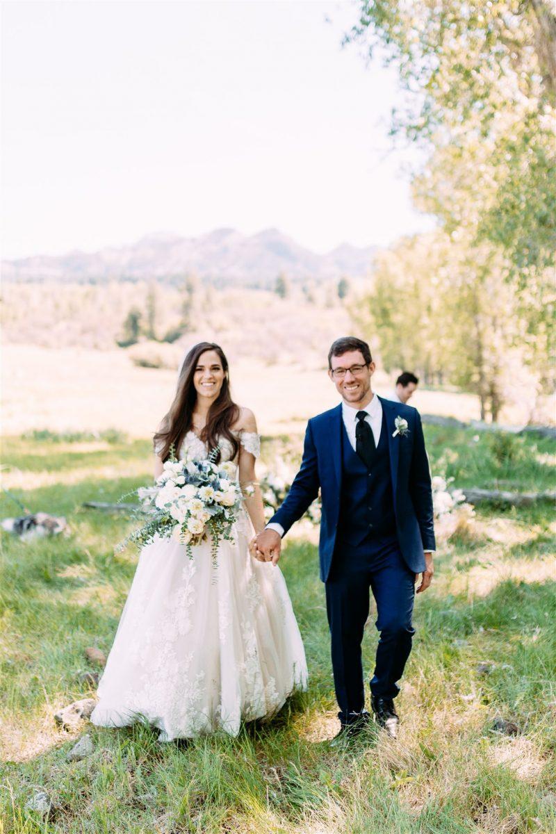 Beautiful Summer Colorado Ranch Wedding