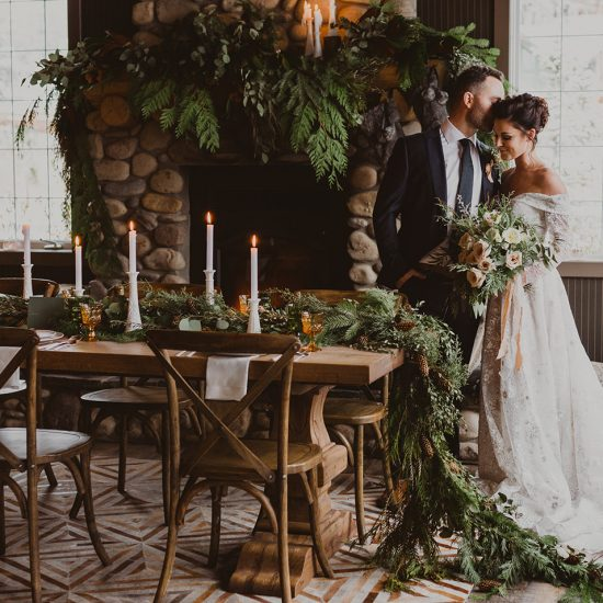 Cozy and Romantic Winter Wedding Inspiration