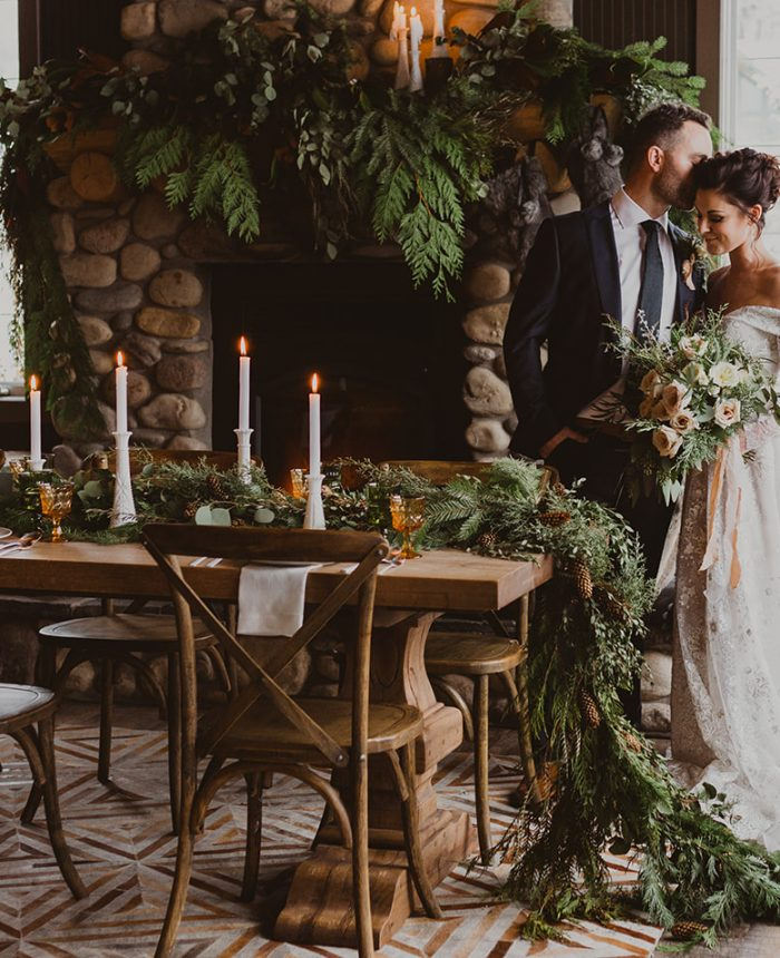 Cozy and Romantic Winter Wedding Inspiration