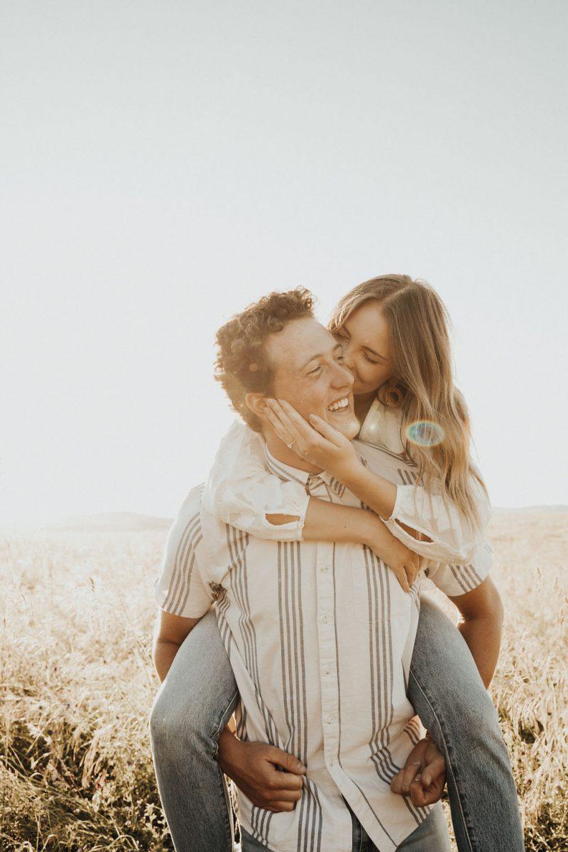 Dreamy Golden Hour Engagement
