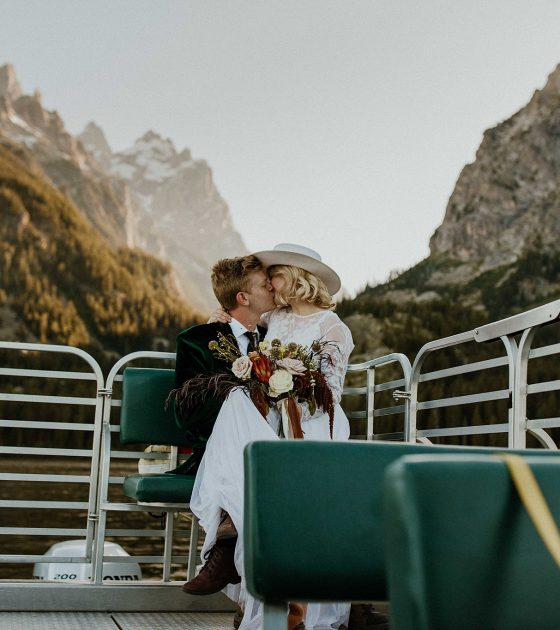 Dreamy and Adventurous Grand Tetons Elopement Inspiration