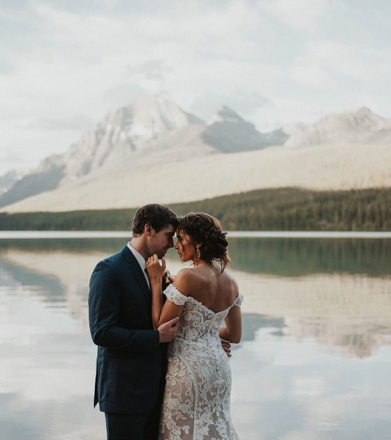 Elegant Lakeside Elopement Inspiration