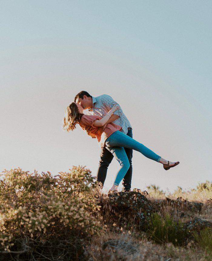 Free-Spirited Idaho Engagement