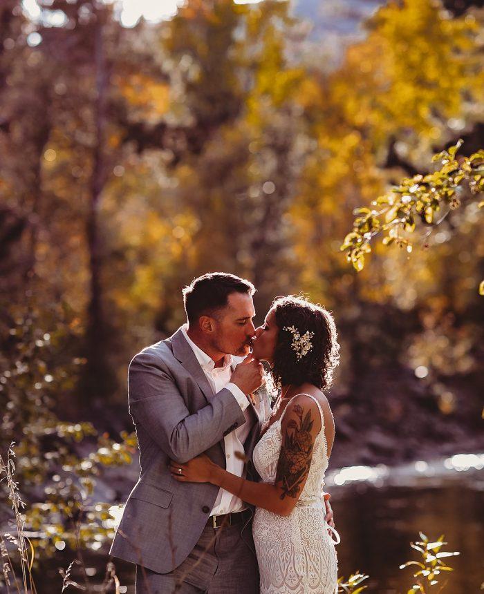 The Landing at Estes Park Golden Fall Wedding
